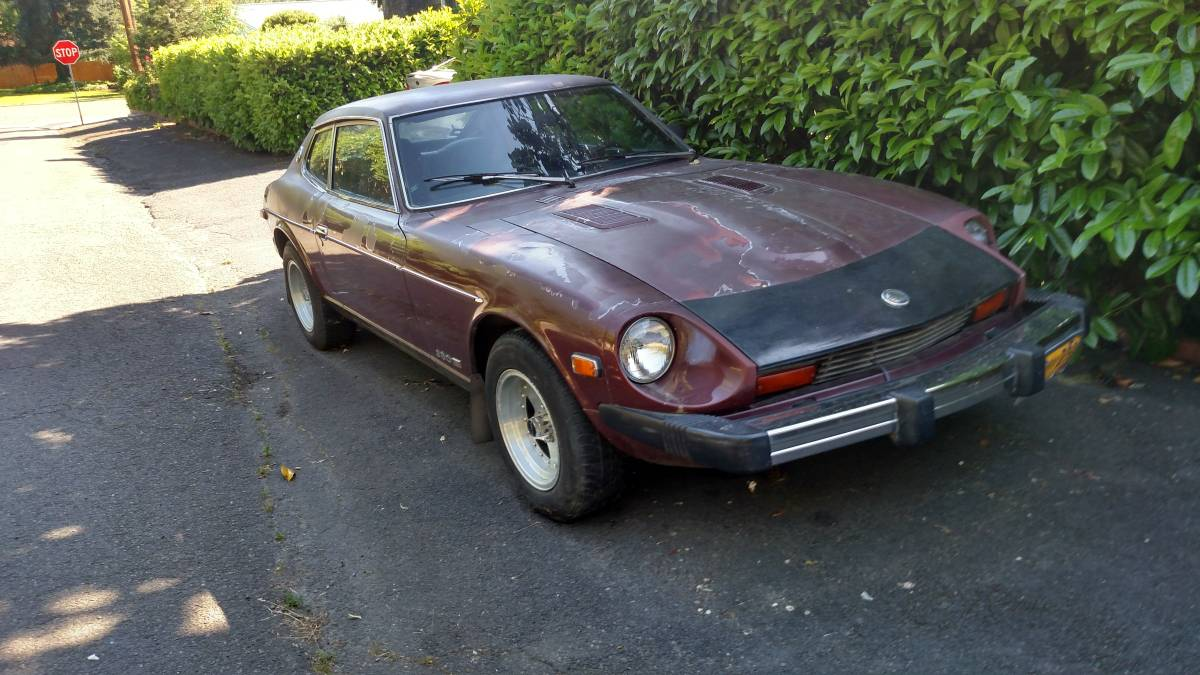1978 datsun 280z automatic for sale in medford oregon. Black Bedroom Furniture Sets. Home Design Ideas